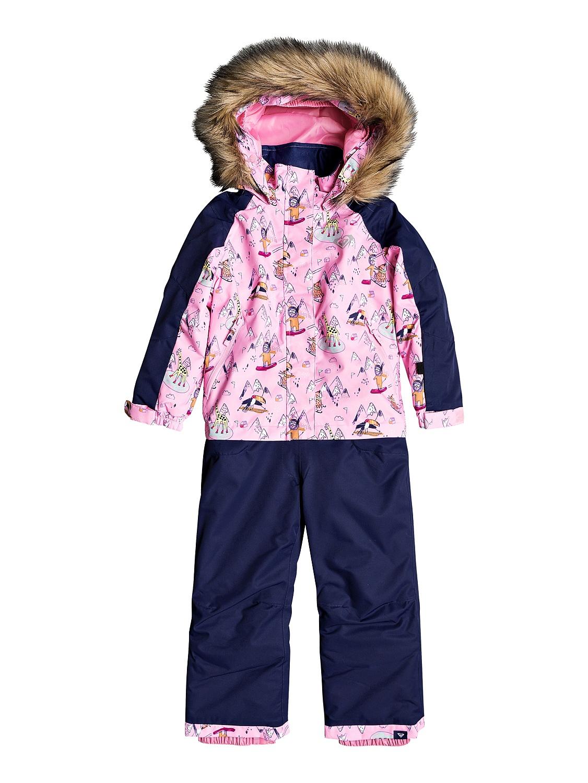 kombinéza Roxy Paradise Jumpsuit - MEQ1/Prism Pink Snow Trip 2 roky