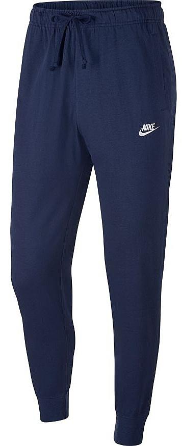 tepláky Nike Sportswear Club Jogger Jersey - 410/Midnight Navy/White XXL