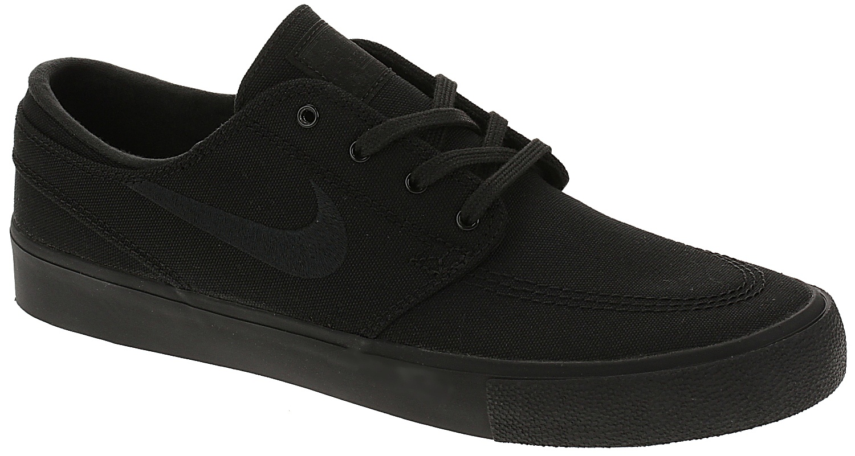 boty Nike SB Zoom Janoski Canvas RM - Black/Black/Black/Black 45