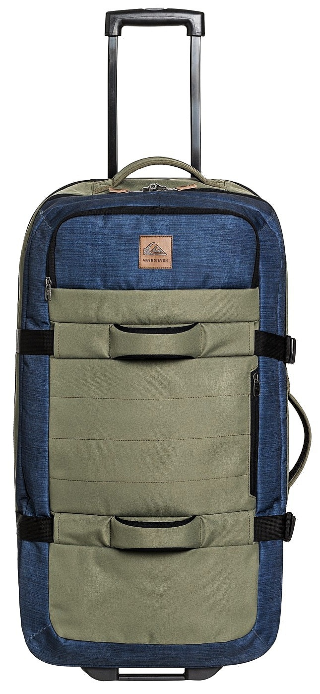 kufr Quiksilver New Reach - GPZ0/Burnt Olive 100 L