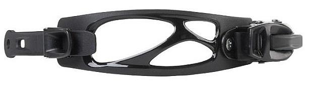 strep Gravity Toe Strap Left - All Black one size