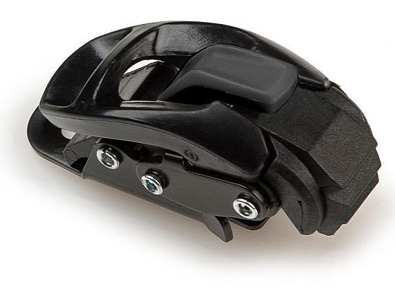 ráčna Gravity Plastic Toe - All Black one size