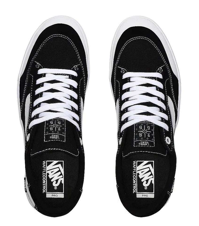 boty Vans Berle Pro - Black/True White
