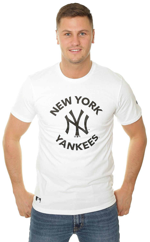 tričko New Era MLB New York Yankees - White XL