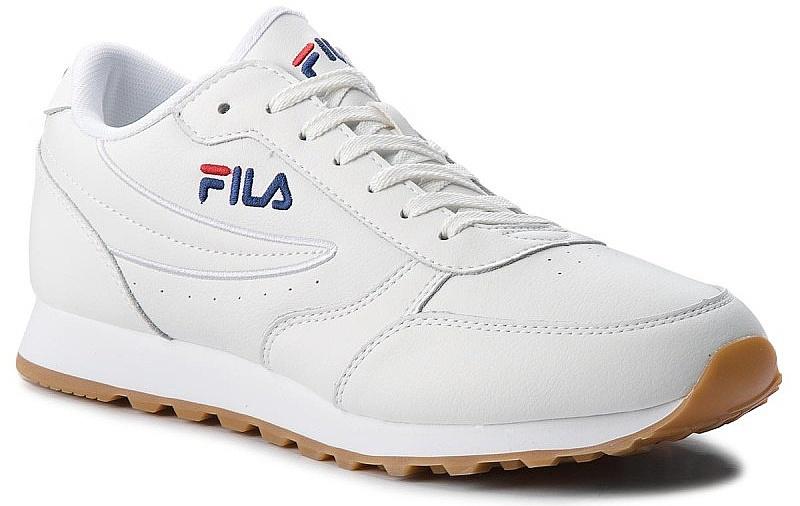 boty Fila Orbit Jogger Low - White 42
