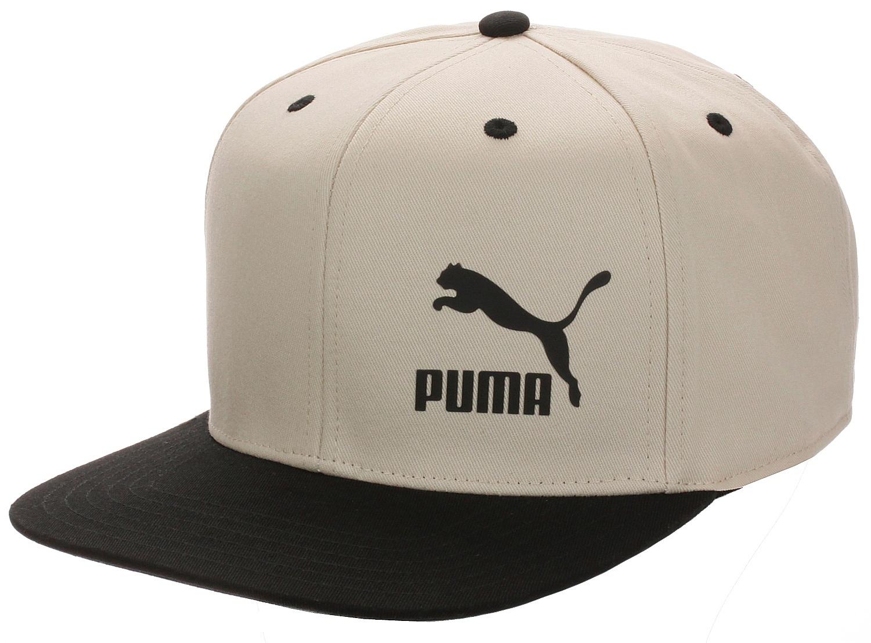kšiltovka Puma LS Colour Block - Tapioca/Puma Black one size