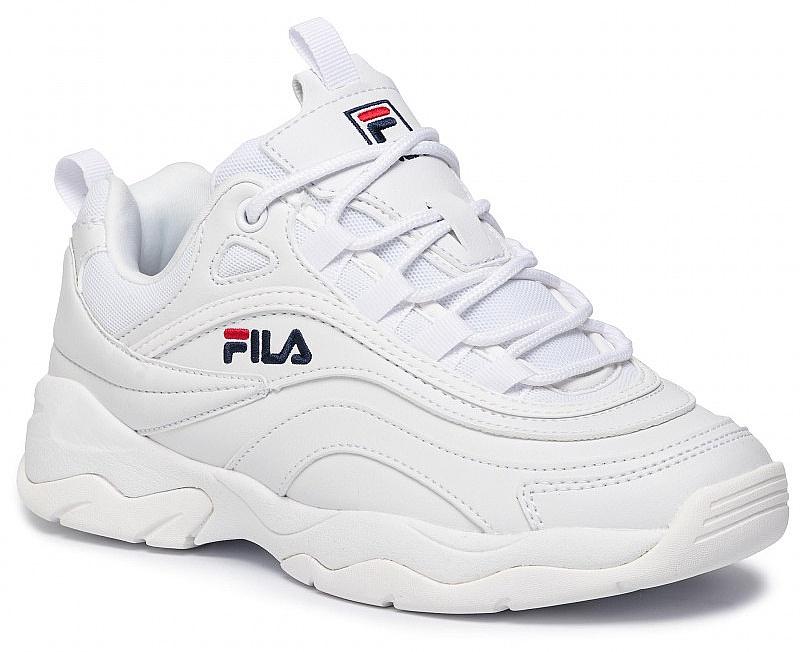 boty Fila Ray Low - White 41