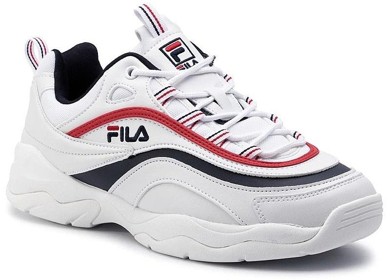boty Fila Ray Low - White/Fila Navy/Fila Red 41
