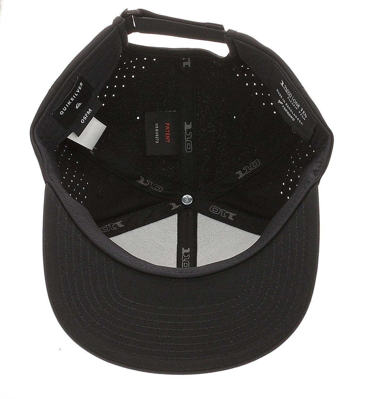 kšiltovka Quiksilver Adapted Flexfit - KVJ0/Black