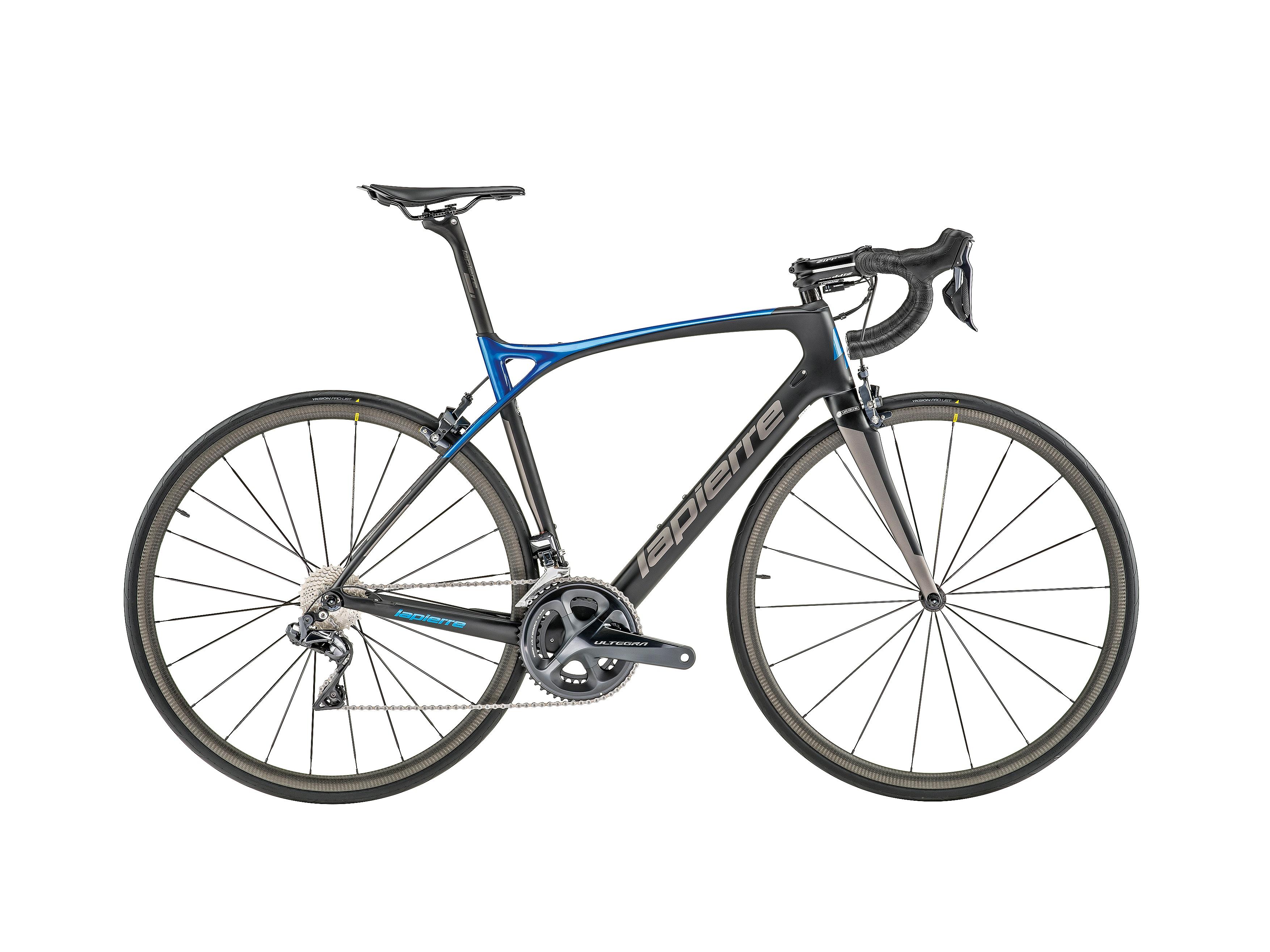 kolo Lapierre Xelius SL2 700 - Black/Blue 55/L (180-190cm)