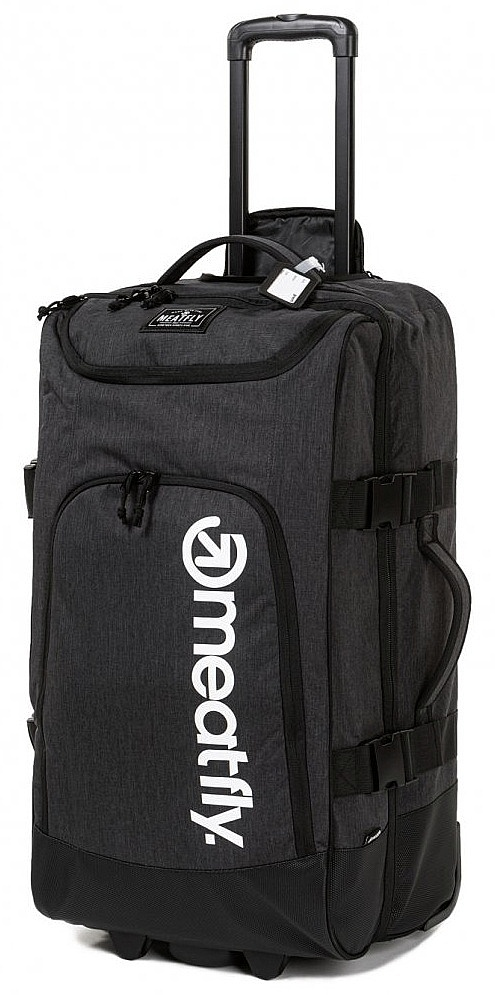 kufr Meatfly Contin 3 Trolley - A/Heather Charcoal/Black 100 L
