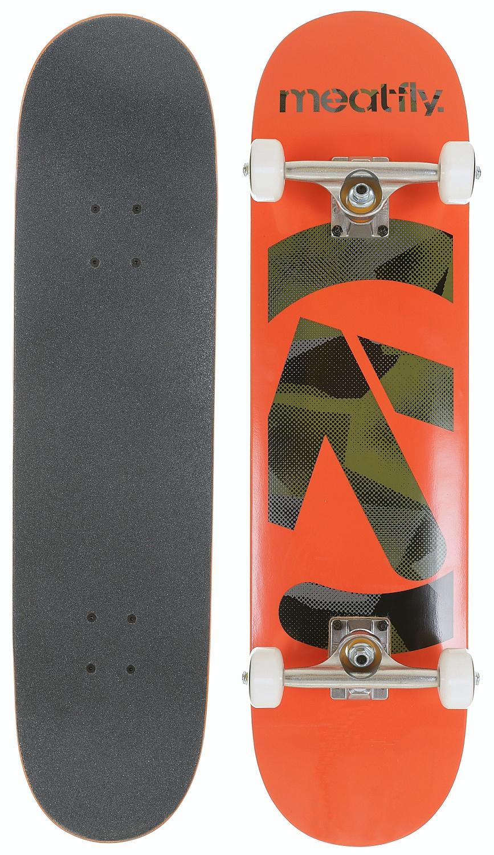 skateboard Meatfly Netto Complete - A/Orange 8