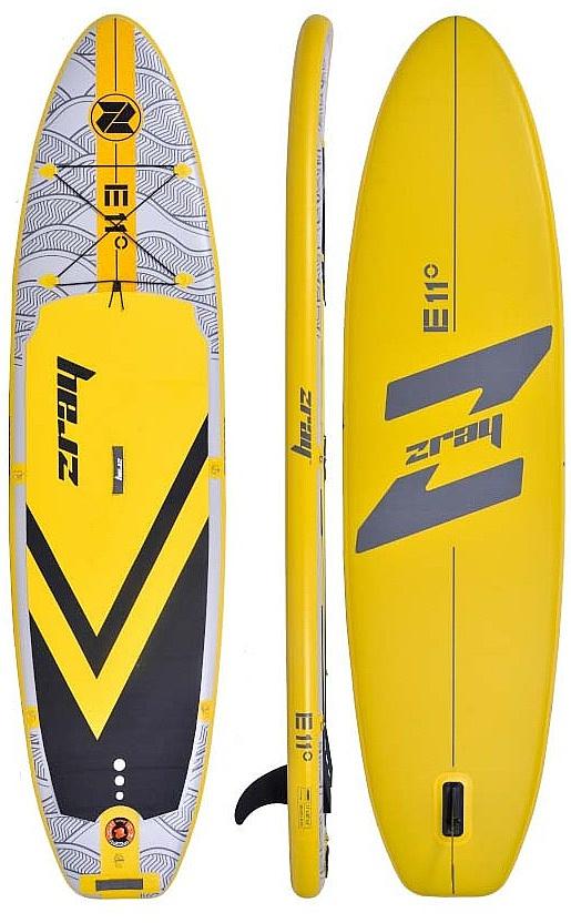 """paddleboard Zray E11 11'0""""x32""""x5"""" - Yellow 11'0""""x32""""x5"""""""