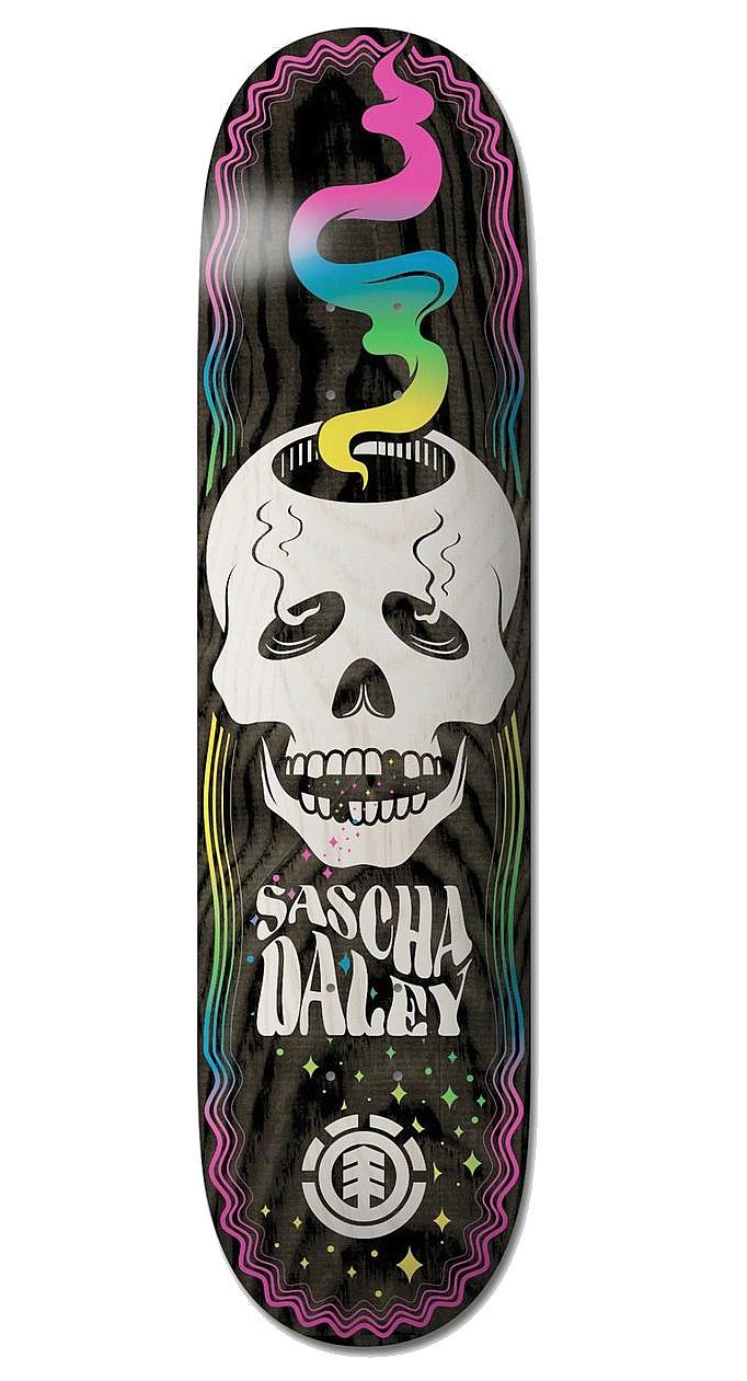 skateboardová deska Element Skull Trip Sasha - Assorted 8.25