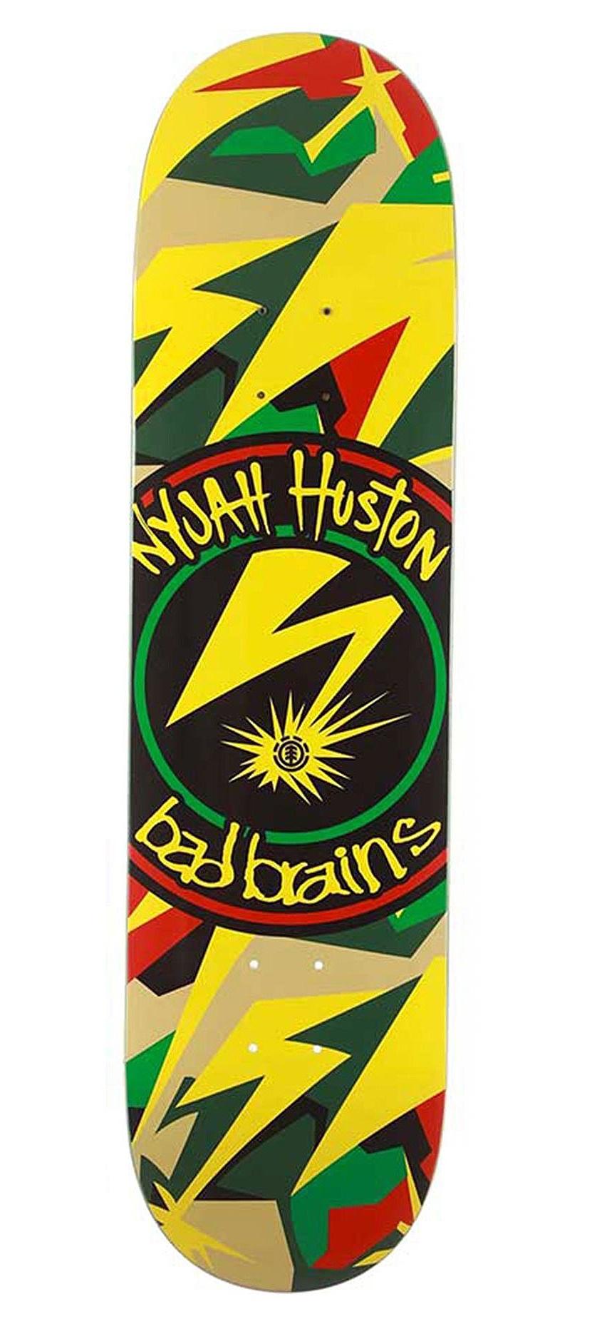 skateboardová deska Element Bad Brains X Nyjah Herit - Assorted 8.25