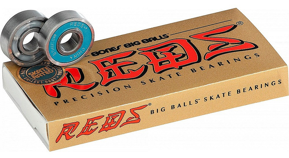 ložiska Bones Big Balls Reds - Gold one size