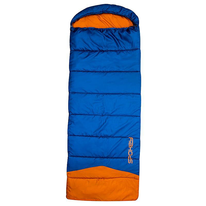 spacák Spokey Outlast - K927946/Blue/Orange 220 cm