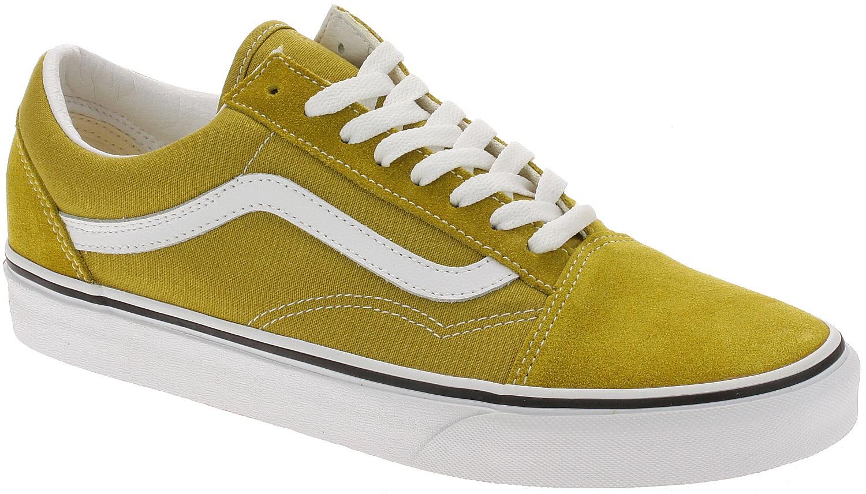 shoes Vans Old Skool - Olive Oil/True White