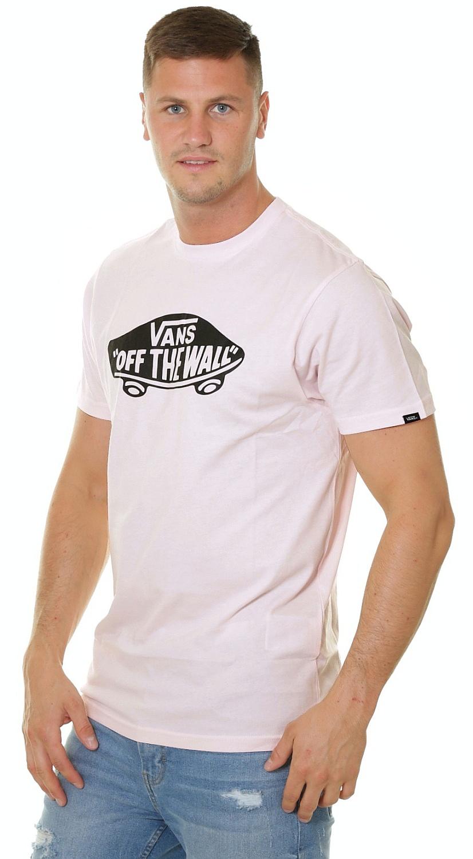 T-Shirt Vans OTW - Vans Cool Pink/Black - men´s