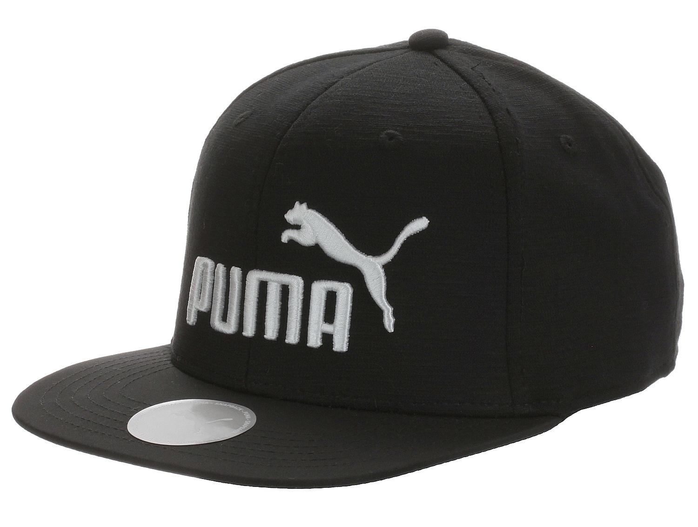 kšiltovka Puma Flatbrim - Puma Black one size