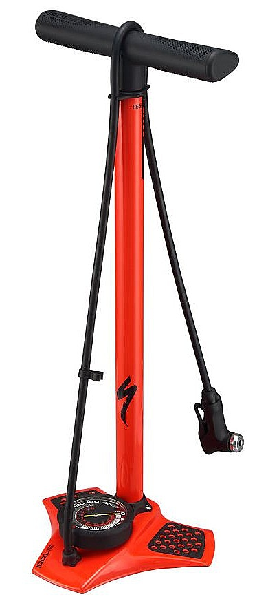 pumpa Specialized Air Tool Comp Floor V2 - Rocket Red one size