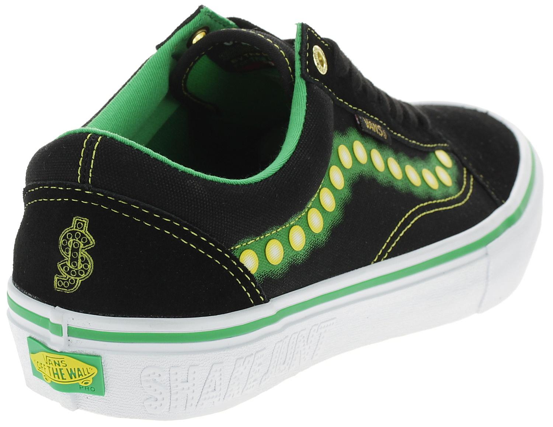 shoes Vans Old Skool Pro - Shake Junt/Black/White - men´s