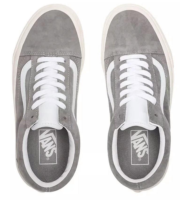 shoes Vans Old Skool - Pig Suede/Drizzle/Snow White/20