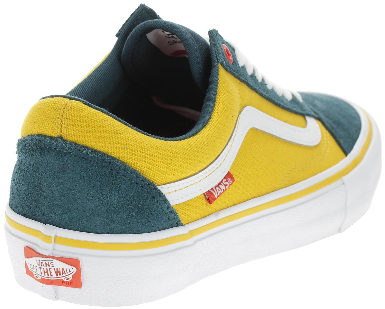shoes Vans Old Skool Pro - Prime/Atlantic/Gold - men´s