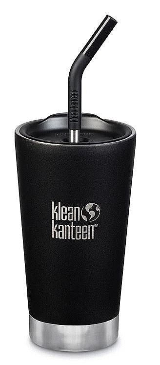 Thermobecher Klean Kanteen Tumbler Insulated/16oz - Shale Black