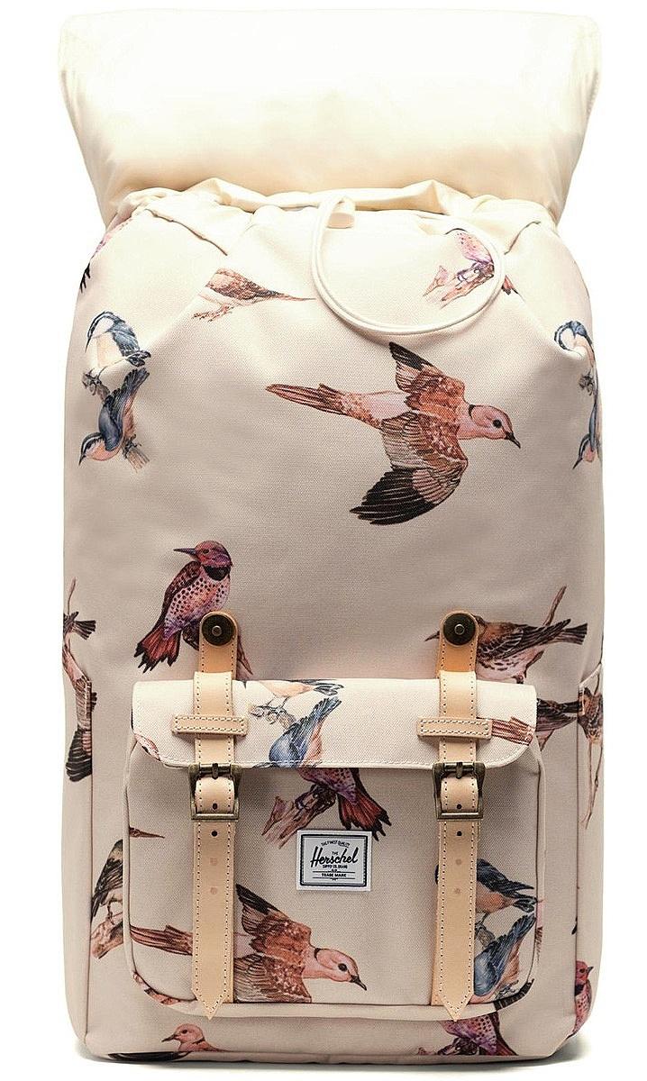 batoh Herschel Little America/Birds Of Herschel - Natural Birds