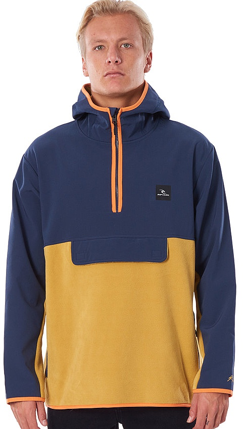 mikina Rip Curl Hike Anti Series - Navy M