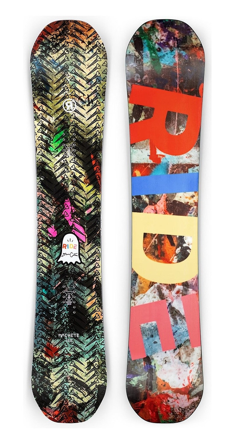 snowboard Ride Machete - Assorted 135 cm
