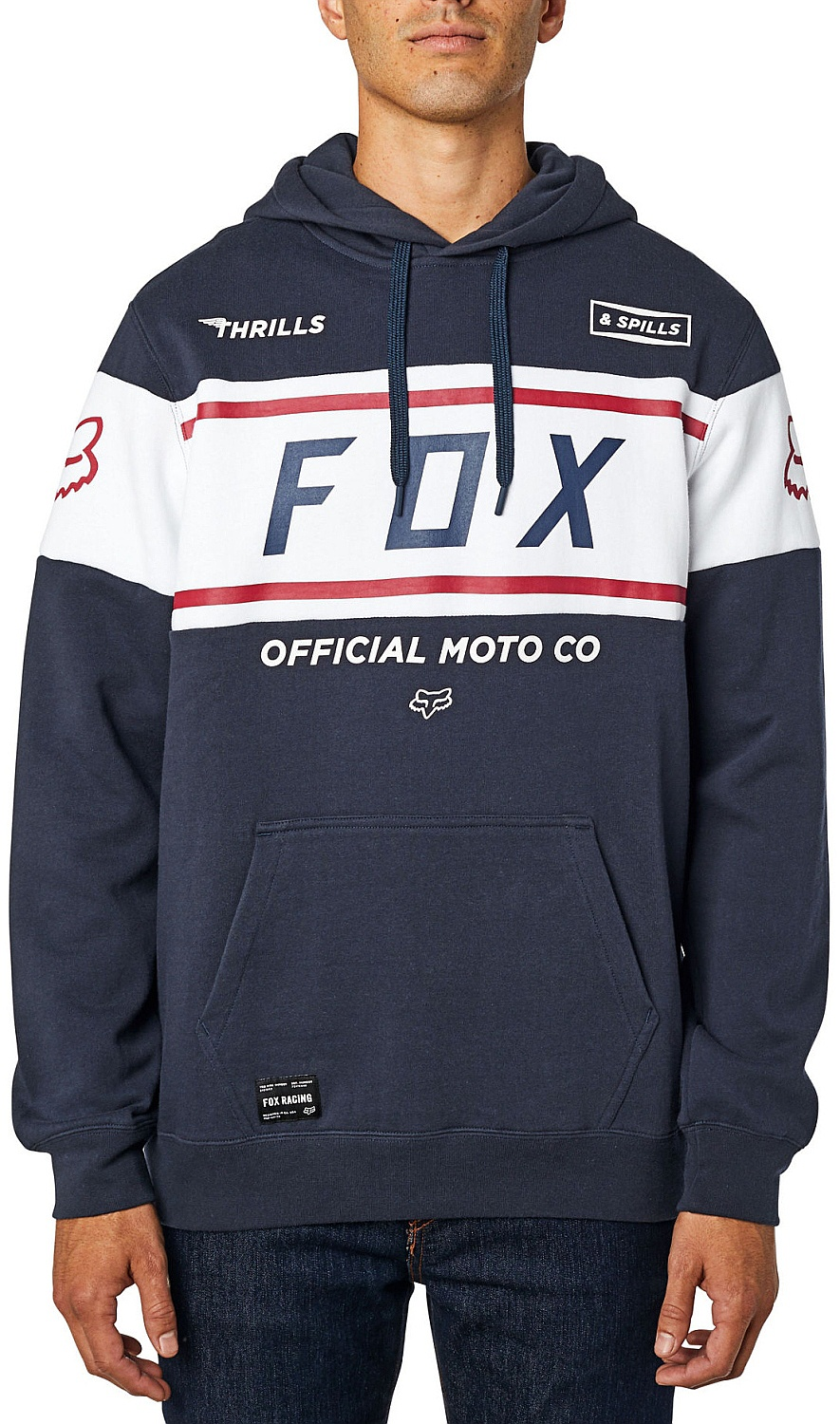 mikina Fox Official Pullover - Midnight XL