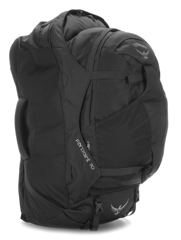 batoh Osprey Farpoint 70 M/L - Black/Black 70 L