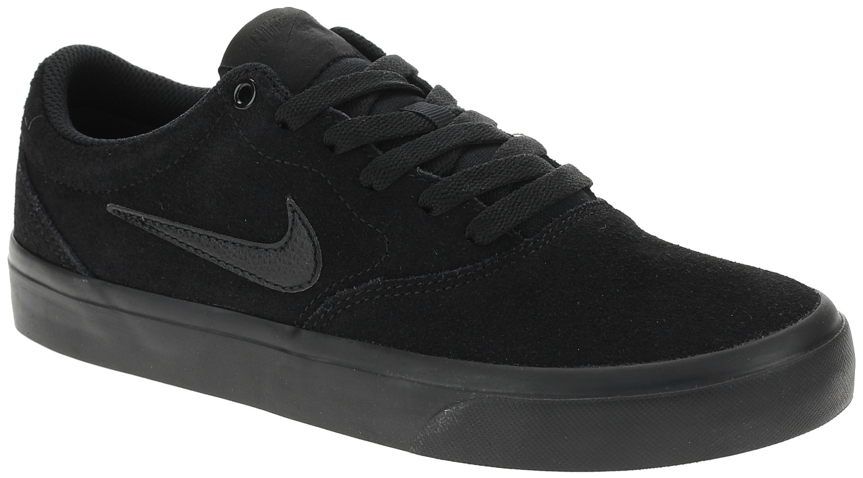 boty Nike SB Charge Suede GS - Black/Black/Black 36
