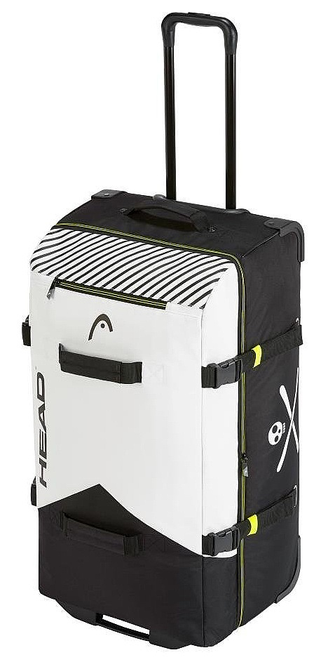 kufr Head Rebels Travelbag - Black/White 100 L