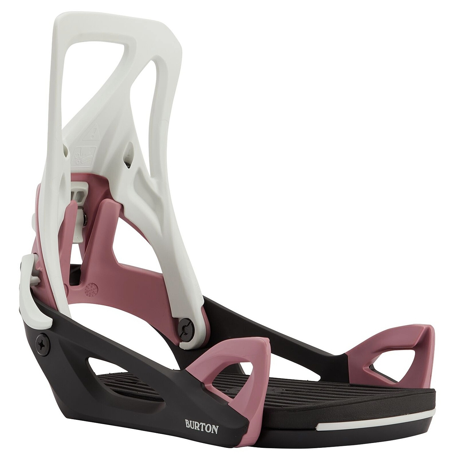 Burton Step On Gray/Black/Rose M 20/21