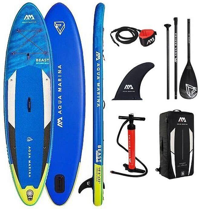 paddleboard Aqua Marina Beast 10'6''x32''x6'' - Assorted 10'6''x32''x6''
