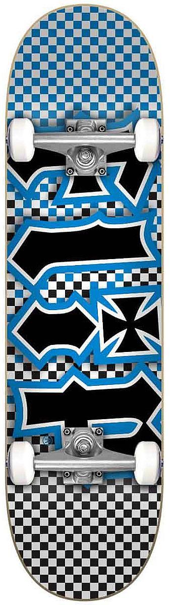 skateboard Flip HKD Fast Times Complete - Blue 7.50