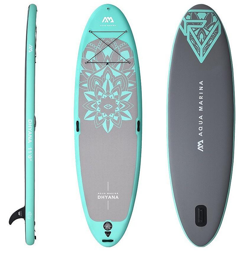 "paddleboard Aqua Marina Dhyana 11'0""x36""x6"" - Assorted 11'0""x36""x6"""
