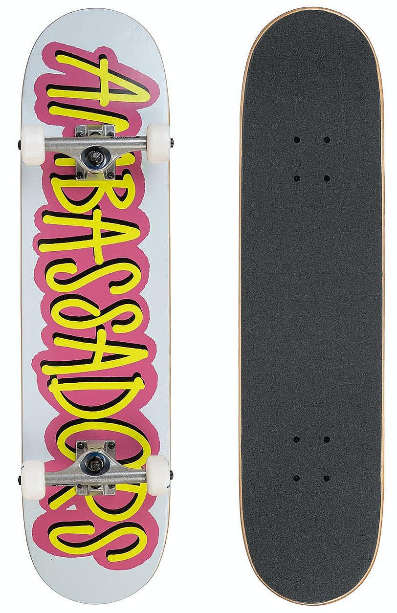skateboard Ambassadors Fresh Complete - Pink/53 7.75