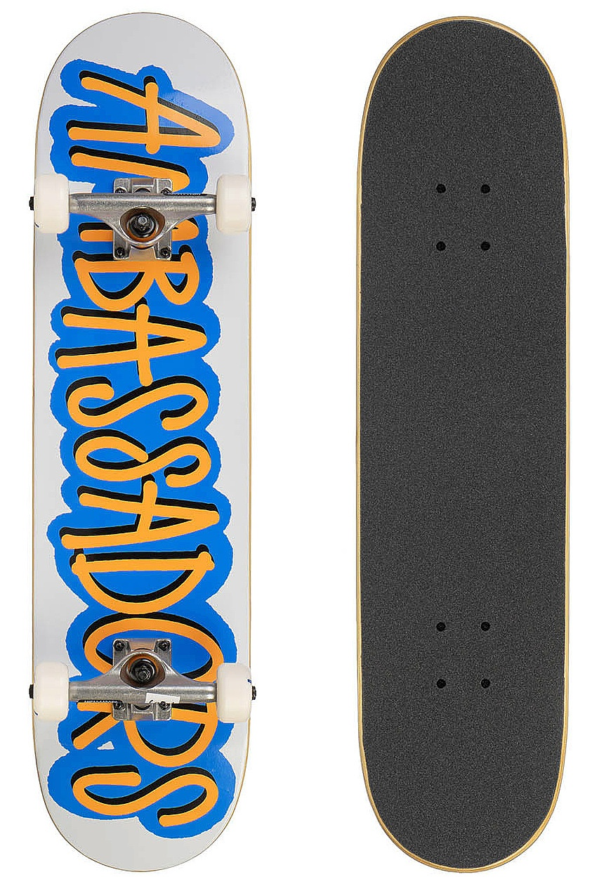 skateboard Ambassadors Fresh Complete - Blue/51 7.75