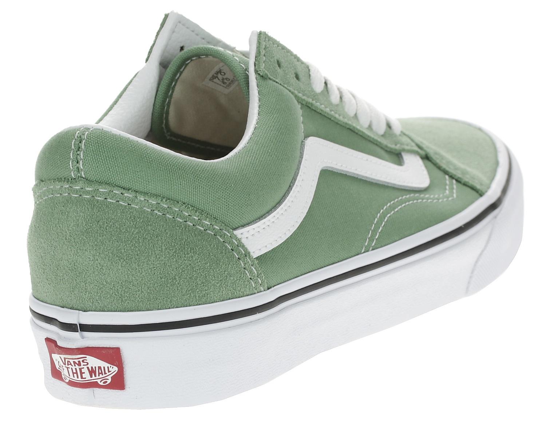 shoes Vans Old Skool - Shale Green/True White