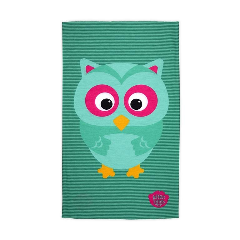 šátek Affenzahn Olivia Owl - Turquoise one size