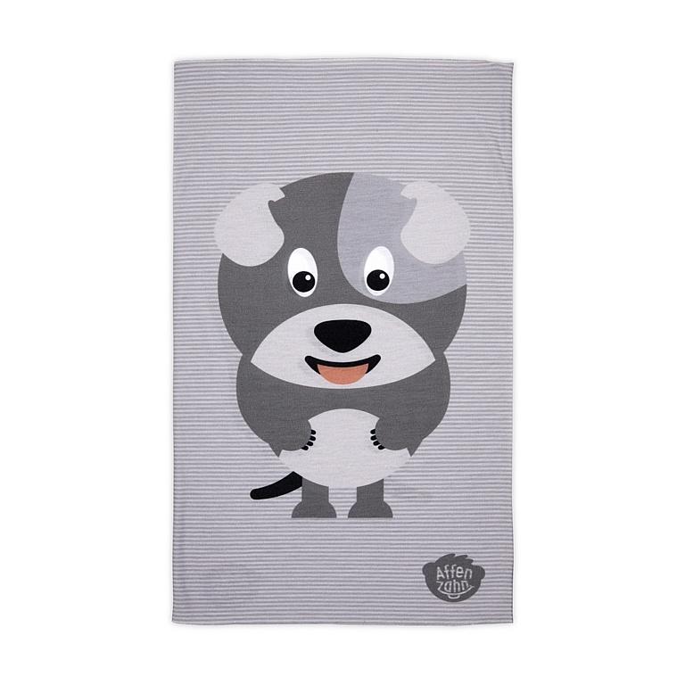 šátek Affenzahn David Dog - Grey one size