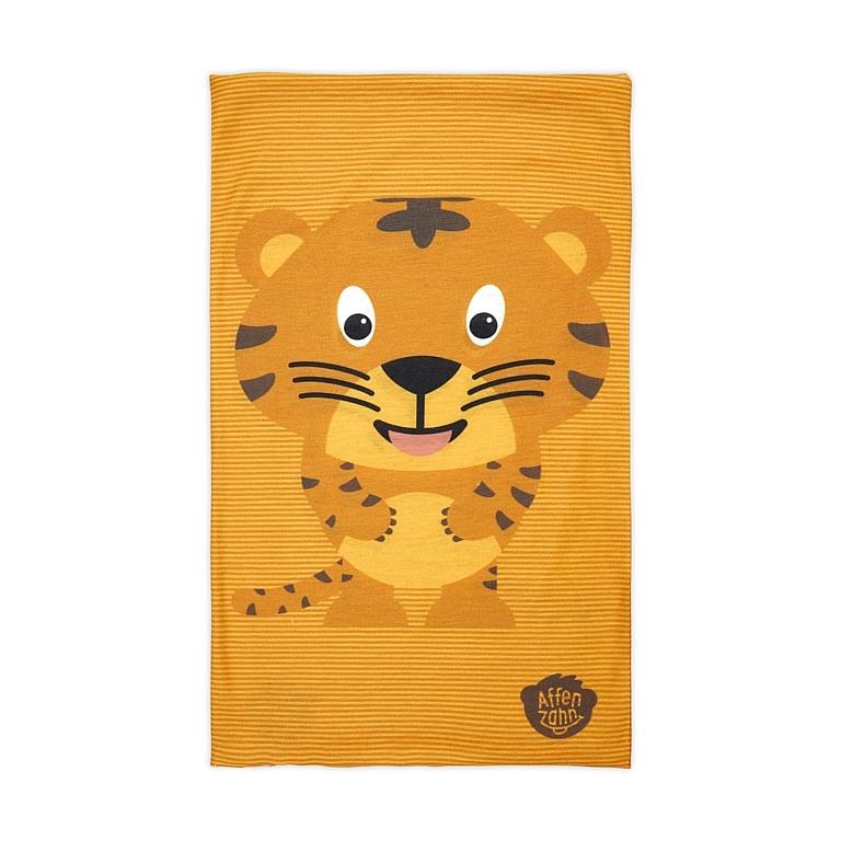 šátek Affenzahn Timmy Tiger - Yellow one size