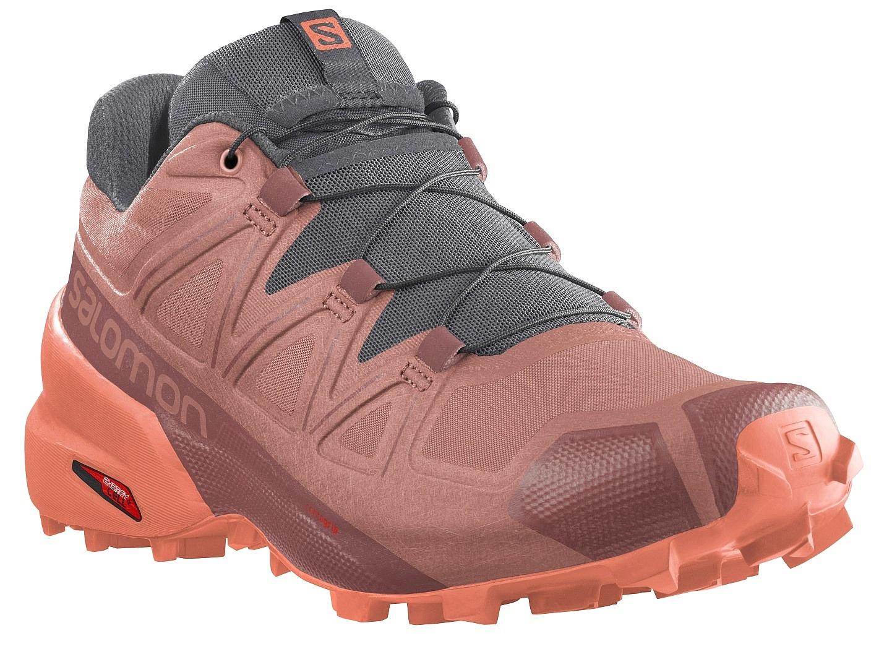boty Salomon Speedcross 5 W - Brick Dust/Persimon/Persimon 38