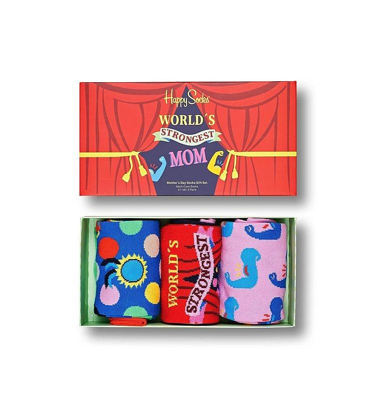 socks Happy Socks Mother's Day Gift 3 Pack - XMOT08-3300