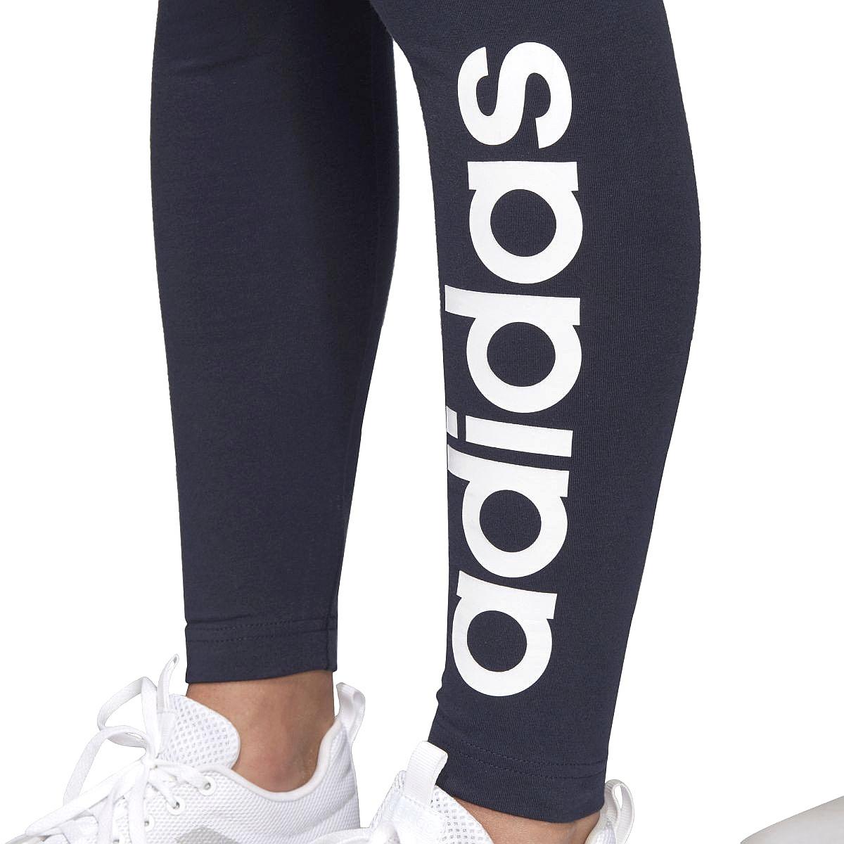 leggings adidas Performance Essentials Linear Tight - Legend Ink/White - women´s