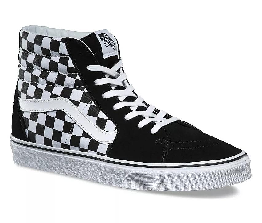 shoes Vans Sk8-Hi - Checkerboard/Black/True White